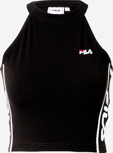 FILA Top 'Tama' - černá / bílá, Produkt