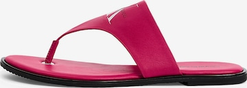 Calvin Klein Jeans Sandale in Pink