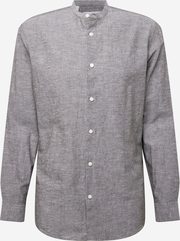 SELECTED HOMME Button Up Shirt in Grey