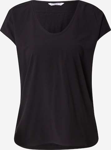 Tricou 'Jasmin' de la ZABAIONE pe negru