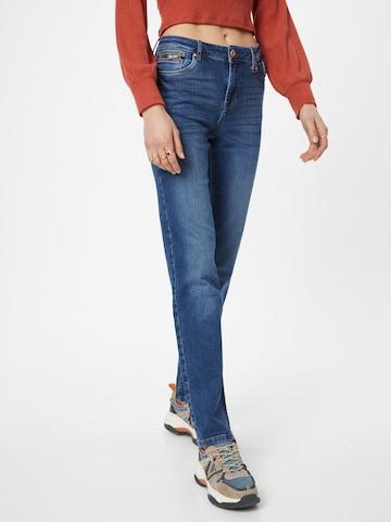 PULZ Jeans Jeans 'EMMA' i blå