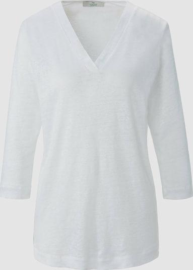Peter Hahn V-Shirt in weiß, Produktansicht