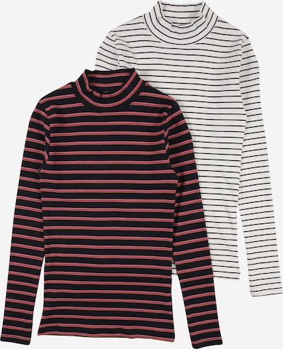 NAME IT Koszulka 'NAFINA' w kolorze niebieska noc / musztardowy / różowy / różowy pudrowy / białym, Podgląd produktu