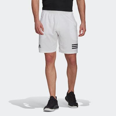ADIDAS PERFORMANCE Sportbroek in de kleur Zwart / Natuurwit: Vooraanzicht