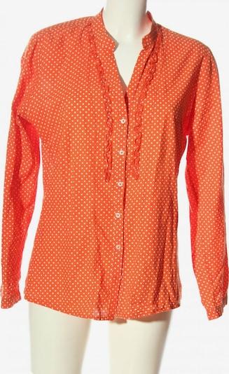 Emily Langarmhemd in XL in hellorange / weiß, Produktansicht