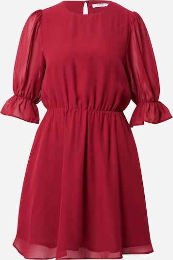 NA-KD Vestido camisero en rojo oscuro, Vista del producto