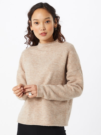VILA Pullover in sand, Modelansicht