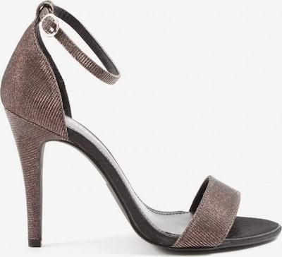 ONLY High Heel Sandaletten in 38 in hellgrau / silber, Produktansicht