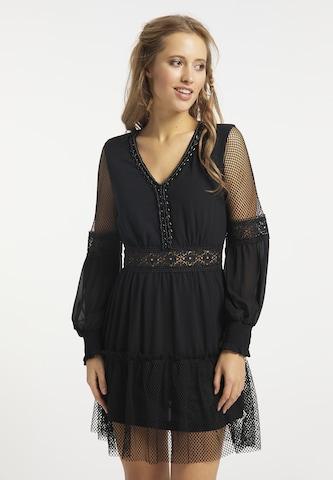 usha FESTIVAL Dress in Black