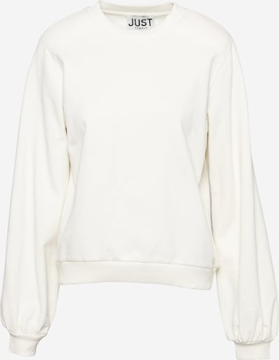 JUST FEMALE Sweatshirt 'Henderson' in offwhite, Produktansicht