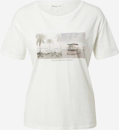 Maison 123 Shirt 'INDRA' in Cream / Light beige / Smoke blue / Light blue / Mocha, Item view