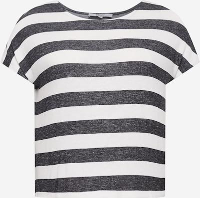 ABOUT YOU Curvy Shirt 'Lamya' in schwarz / weiß, Produktansicht