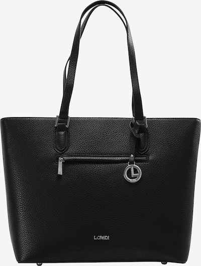 L.CREDI Shopper 'Ella' in schwarz, Produktansicht