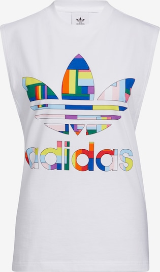 ADIDAS ORIGINALS Top in de kleur Gemengde kleuren / Wit, Productweergave