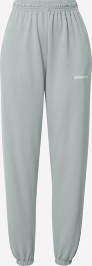 Worst Behavior Spodnie 'Zia' w kolorze pastelowy zielonym, Podgląd produktu