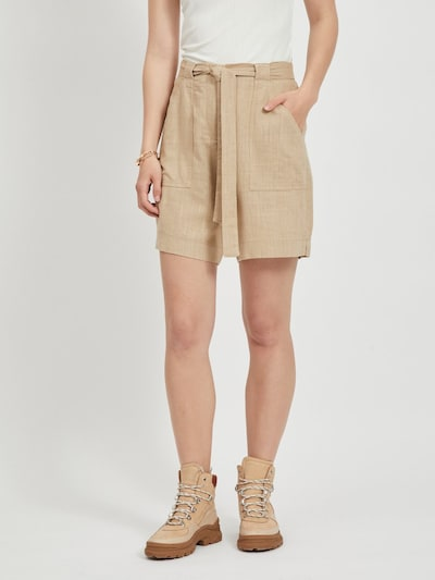 VILA Shorts 'SAFARI' in beige, Modelansicht