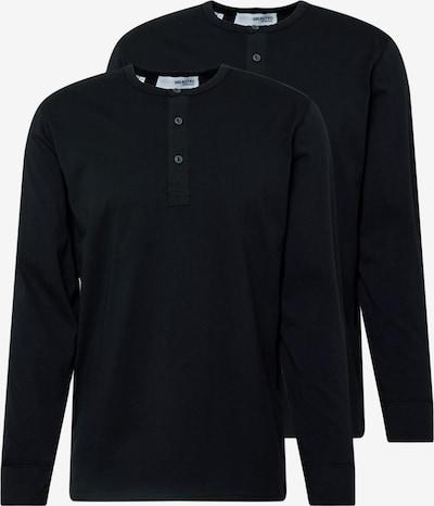 SELECTED HOMME Paita 'SLHBAKER' värissä musta, Tuotenäkymä