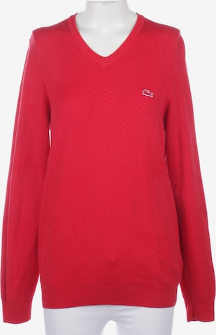 LACOSTE Sweater & Cardigan in S in Red