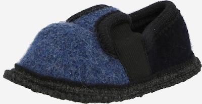 BECK Mājas apavi 'Bobby', krāsa - zils / naktszils, Preces skats