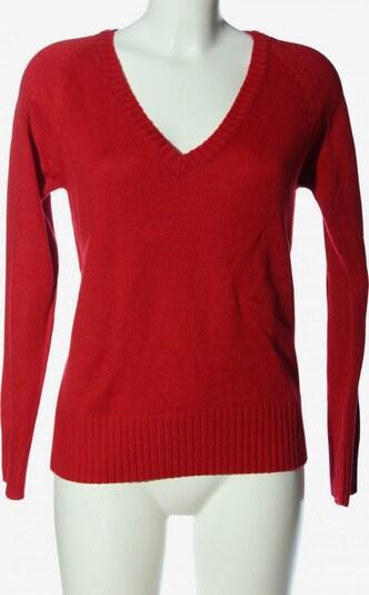 COLLEZIONE ALESSANDRO V-Ausschnitt-Pullover in L in rot, Produktansicht