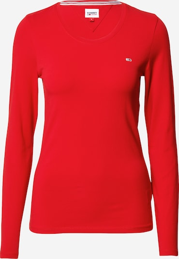Tommy Jeans Shirt in de kleur Rood, Productweergave