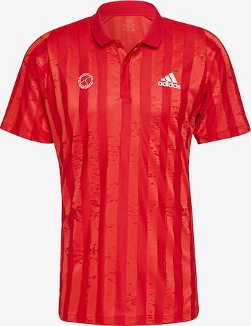 ADIDAS PERFORMANCE Poloshirt in Rot