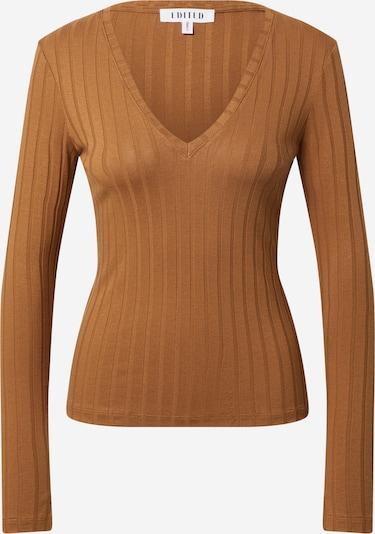 EDITED Shirt 'Elin' in de kleur Bruin, Productweergave