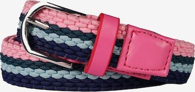 HORKA Gürtel in blau / pink / silber, Produktansicht