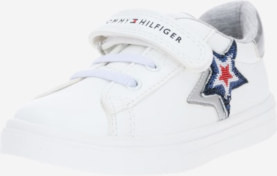 TOMMY HILFIGER Sneaker in blau / grau / rot / weiß, Produktansicht