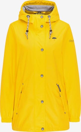 Schmuddelwedda Tussenjas in de kleur Navy / Geel, Productweergave