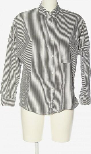 Bershka Hemd-Bluse in XS in schwarz / weiß, Produktansicht