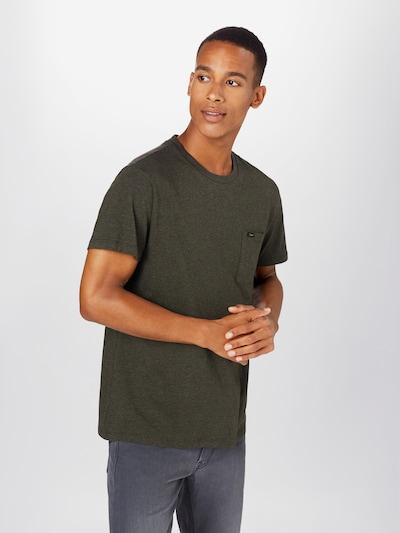 Lee Shirt 'Ultimate Pocket' in de kleur Donkergroen: Vooraanzicht