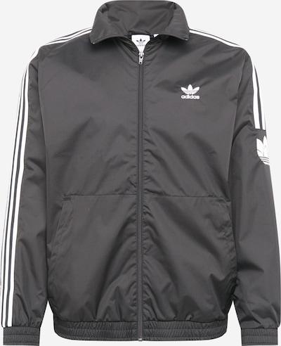 ADIDAS ORIGINALS Tussenjas in de kleur Zwart / Wit, Productweergave