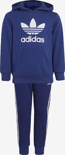ADIDAS ORIGINALS Jogginganzug in blau / weiß, Produktansicht