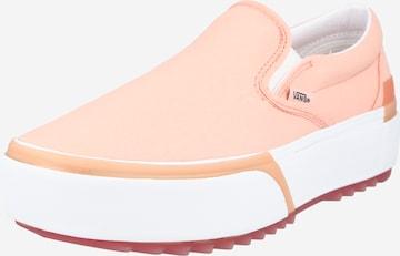 VANS Slip on -tennarit värissä vaaleanpunainen