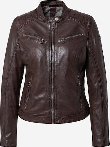 Gipsy Between-season jacket in Brown