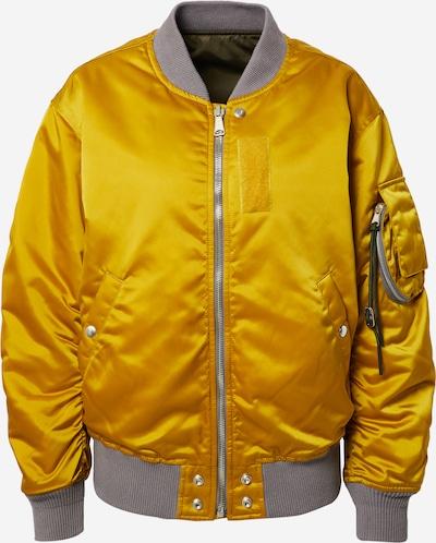 DIESEL Wendejacke in gelb / khaki, Produktansicht
