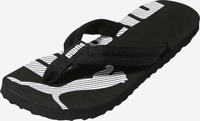 PUMA Strand-/badschoen in de kleur Zwart / Wit, Productweergave