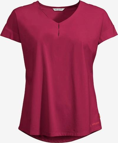 VAUDE T-Shirt ' Wo Skomer V-Neck ' in rot, Produktansicht