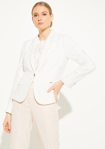 COMMA Blazer in weiß, Modelansicht