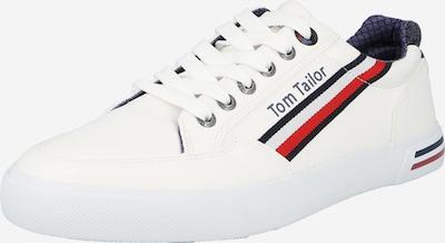 TOM TAILOR Nízke tenisky - tmavomodrá / červená / biela, Produkt
