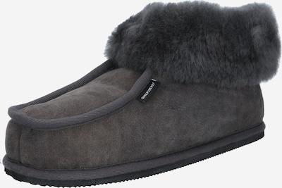 SHEPHERD OF SWEDEN Pantoufle en gris, Vue avec produit