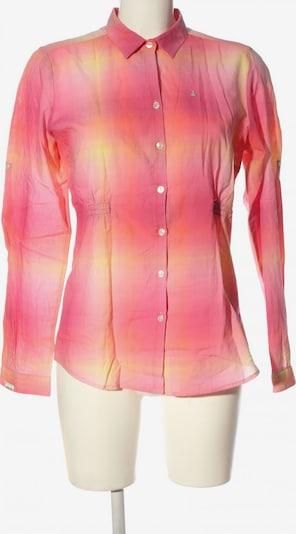 Gaastra Langarmhemd in S in pastellgelb / pink, Produktansicht