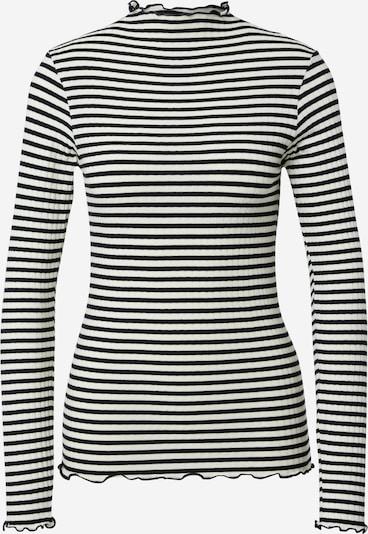 MADS NORGAARD COPENHAGEN Shirt in schwarz / offwhite, Produktansicht