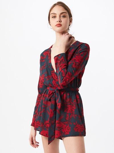Missguided Combinaison en bleu marine / rouge, Vue avec modèle