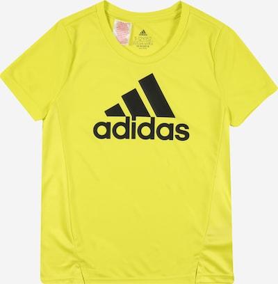 ADIDAS PERFORMANCE Functioneel shirt in de kleur Limoen / Zwart, Productweergave