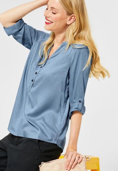 STREET ONE Bluse in blau, Modelansicht