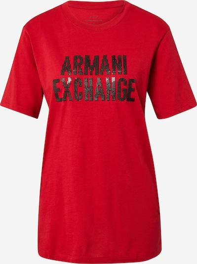 ARMANI EXCHANGE Tričko '6 HYTMA' - červená / čierna, Produkt