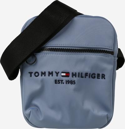 TOMMY HILFIGER Umhängetasche 'REPORTER' in taubenblau / rot / schwarz / weiß, Produktansicht