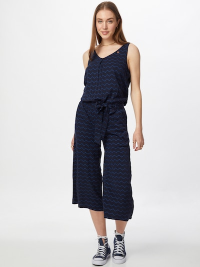 Ragwear Kombinezon 'SUKY CHEVRON' u plava / mornarsko plava, Prikaz modela